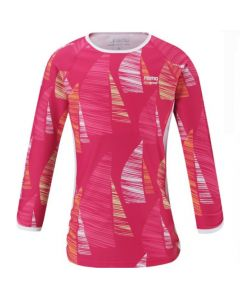 Reima Costa Girls Rash Vest - Pink