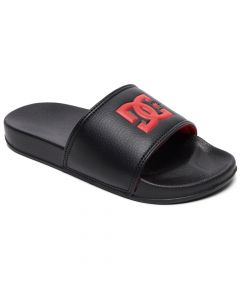 DC Slide - Sliders Boys Sandal - Black/Red