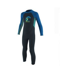 O'Neill Reactor 2mm Full Wetsuit - Slate / Light Aqua / Ocean