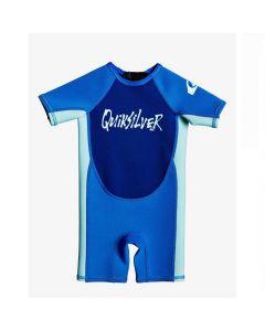 Quiksilver 1.5 Syncro Toddler Boy BZ SS FLT - Blue