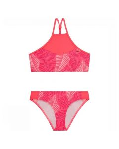 O'Neill High Neck Bikini Perform Girls - Pink