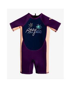 Roxy toddler uv swimwear, kids wetsuits, toddler wetsuits