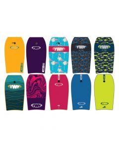 "TWF XPE Slickback 37"" bodyboards"