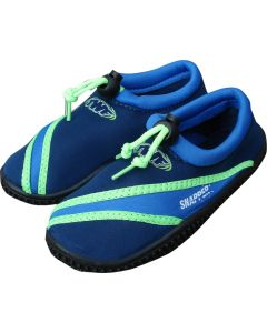 TWF Snapper Kids Beach Shoes - blue/green SAVE 25%