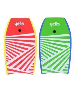 """Yello Kids Slick Bodyboard 33"""" - Zig Zag"""