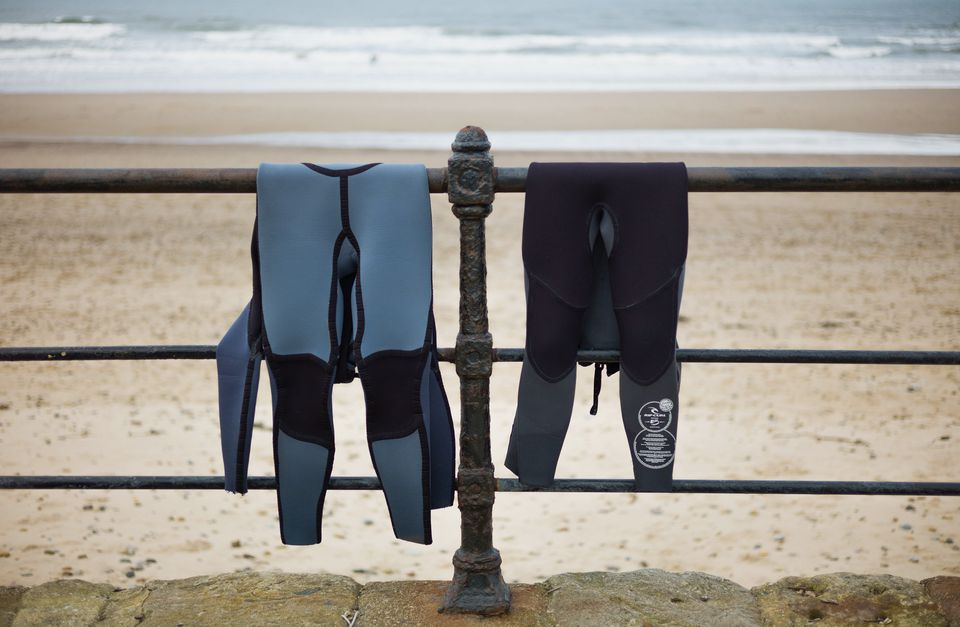 Wetsuit thickness guide for travelling in the UK and abroad