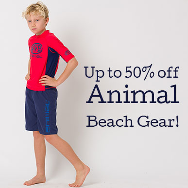Save on Animal Beach Gear