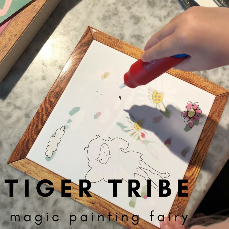 magic painting at Craft4kids