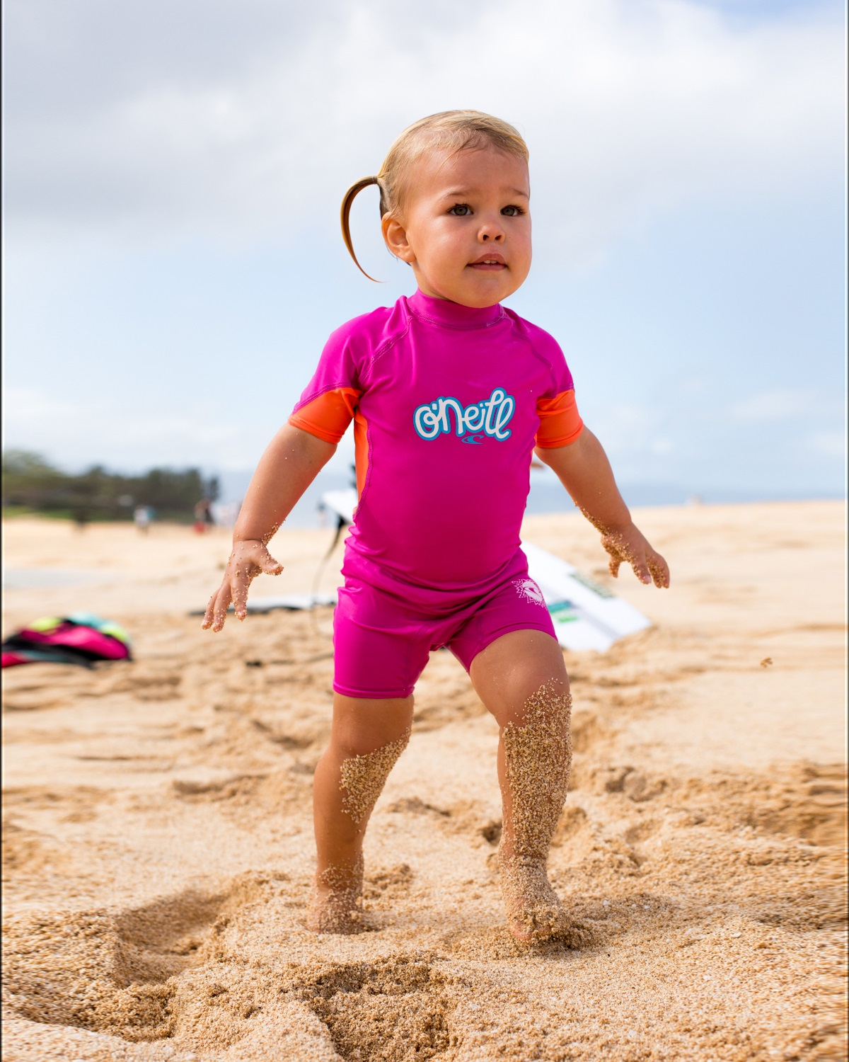 O'Neill Girls UV Sunsuit