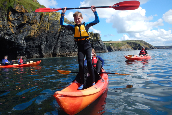 Sea kayaking Lizard Adventures Cornwall
